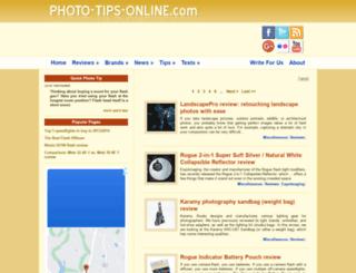 photo-tips-online.com screenshot