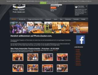 photo-zauber.com screenshot