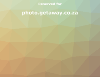 photo.getaway.co.za screenshot