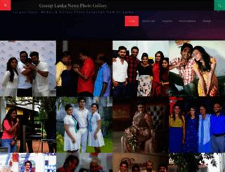 photo.gossip-lankanews.com screenshot