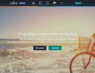 photo.pizap.com screenshot