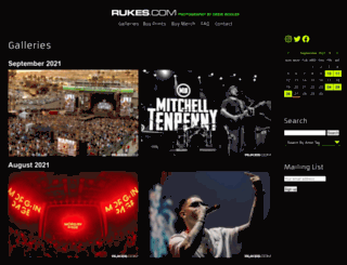 photo.rukes.com screenshot