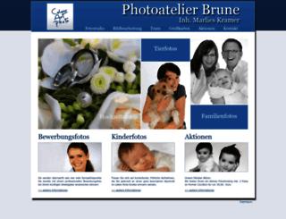 photoatelier-brune.de screenshot
