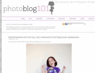 photoblog101.com screenshot