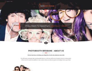 photoboothbrisbane.com.au screenshot