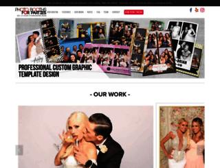 photoboothsforparties.com screenshot