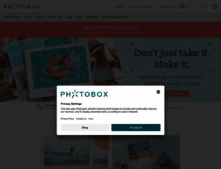 photobox.co.uk screenshot