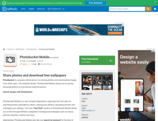 photobucket-mobile.en.softonic.com screenshot
