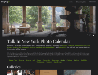 photocalendar.talkinnewyork.com screenshot