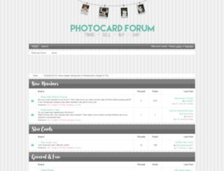 photocard.boards.net screenshot