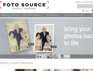 photocentral.fotosource.com screenshot