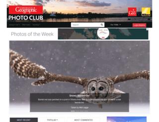 photoclub.canadiangeographic.ca screenshot