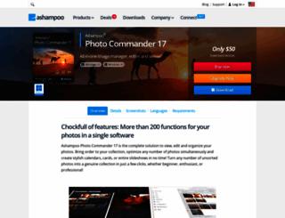 photocommander.com screenshot