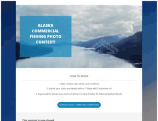 photocontest.alaskaseafood.org screenshot