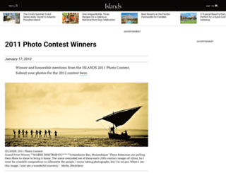 photocontest.islands.com screenshot