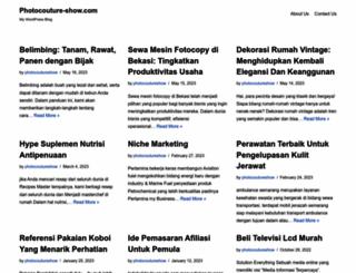 photocouture-show.com screenshot