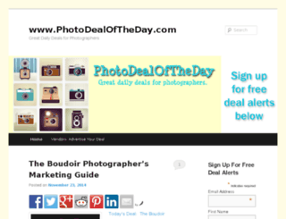photodealoftheday.com screenshot