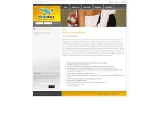 photoexec.com screenshot