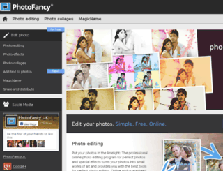 photofancy.co.uk screenshot