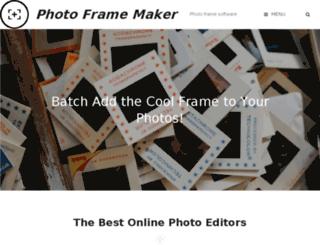 photoframemaker.com screenshot