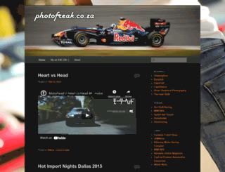 photofreak.co.za screenshot