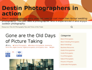 photographers.destinspaces.com screenshot