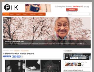 photographersinkorea.com screenshot
