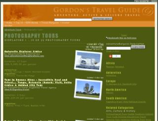 photography-tours.gordonsguide.com screenshot