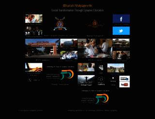 photography.bharatividyapeeth.edu screenshot