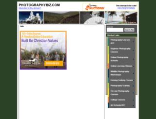 photographybiz.com screenshot