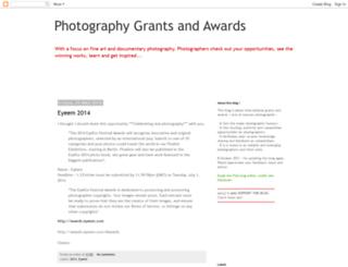 photographygrants.blogspot.com screenshot