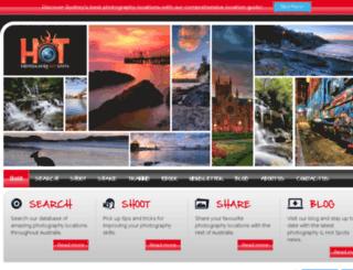 photographyhotspots.com.au screenshot