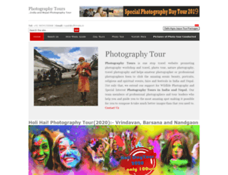 photographytours.in screenshot