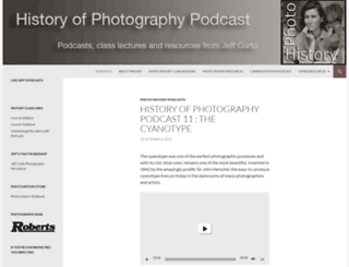 photohistory.jeffcurto.com screenshot