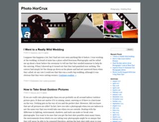 photohorcrux.com screenshot