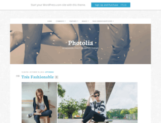 photoliademo.wordpress.com screenshot