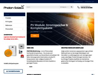 photon-solar.de screenshot