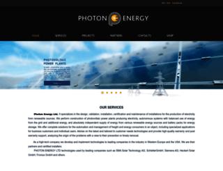 photonenergy.bg screenshot