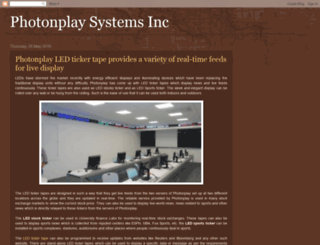 photonplaysystems.blogspot.in screenshot