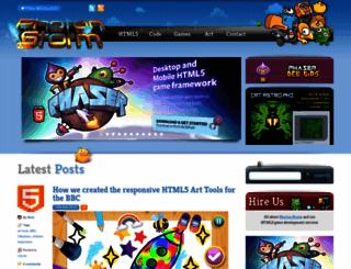 photonstorm.com screenshot