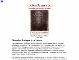 photoofjesus.com screenshot