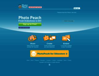 photopeach.com screenshot