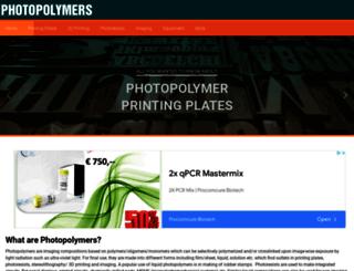 photopolymer.com screenshot