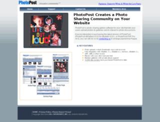 photopost.com screenshot