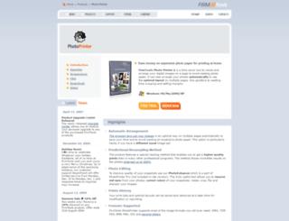 photoprinter.firmtools.com screenshot