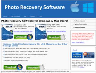 photorecoverysoftwares.net screenshot