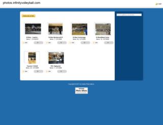 photos.infinityvolleyball.com screenshot