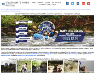 photos.rafting.co.uk screenshot