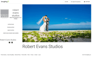 photos.robertevans.com screenshot