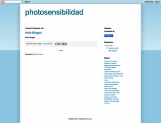 photosensibilidad.blogspot.com screenshot